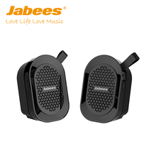 2017 new gadget Jabees latest mini waterproof tws wireless Bluetooth stereo speaker for mobile phones