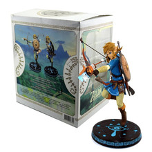 "Japan game Nintendo figure The Legend of Zelda Breath of the Wild Link 10"" First 4 Figures toys action figure"