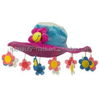 Party Carnival Funny clown rainbow Crazy jester hat