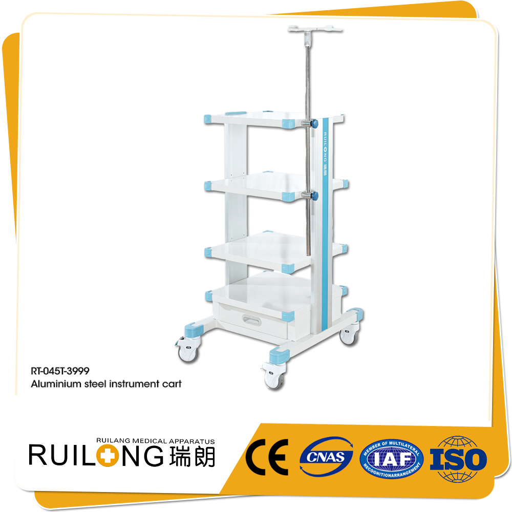 Top Sale Modern Stylish Hospital Patient Monitor Trolley