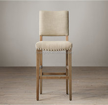High Quality Solid Wood soft Bar Chair Bar Stool