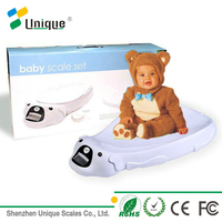Medical Hospital Nursing Electronic Digital Dog Talking Round Body Balance Hanging Weighing Smart Baby Scale for Children