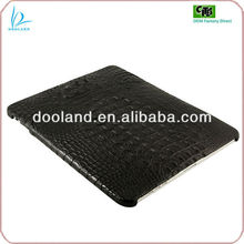 New arrival crocodile skin leather case for ipad 4