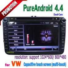 tontek vw auto electronics in dash car dvd player with radio tv blue/IPOD mirror link