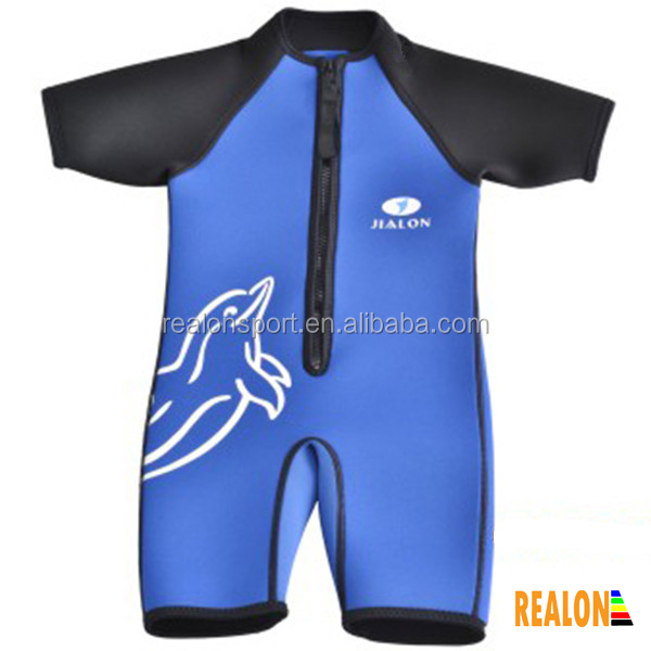 custom one piece baby wetsuits