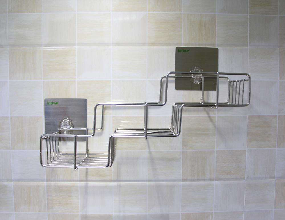 Fashion Structure Bathroom Plastic Shower Shelf Metal Shelves - Buy ...