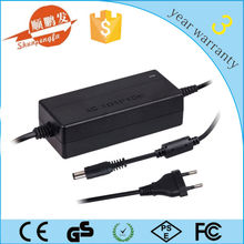 CE/ROHS/FCC passed ac/dc switching power supply 12v 5a with EU/US/AU/UK plug