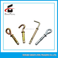 stainless steel hook type sleeve anchor bolt