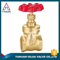 stem gate valve brass material heavy/light type prolong BSP/NPT thread gate valve made in china good quality