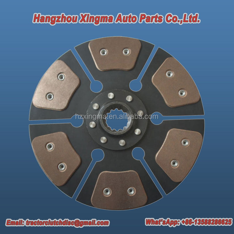 Parts clutch plate for farm tractors