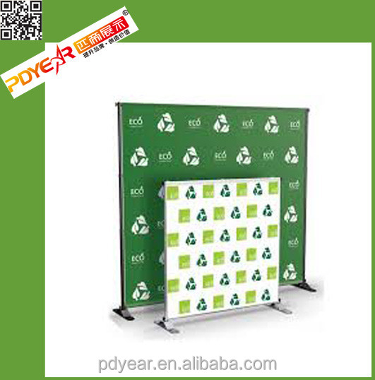 Manufacturer telescopic universal display stands show wall screen