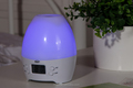 Essential oil diffuser with digital clock