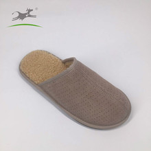 Wholesale low prices winter faux fur slippers