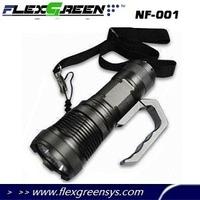 SST-50 rechargeable handhold LED 9v battery flashlight