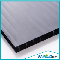 6MM Twin Wall Polycarbonate Greenhouse Panels With Customized