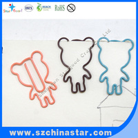 Custom logo decorative small metal paper clip