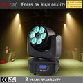 6x4in1 15w led beam rgbw wash zoom light movinh head disco ball light with dmx mode