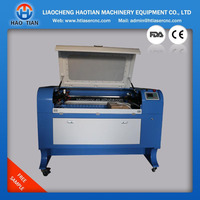 900*600mm Co2 laser cutting and engraving machine /coconut shell laser cutting and engraving machine