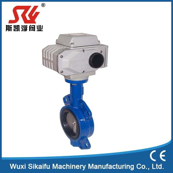Factory supply mini electric butterfly valve