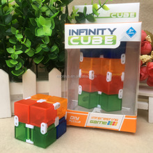 Newest Fidget Cube Children Desk Toy Infinity Cube metal Cube Spinner