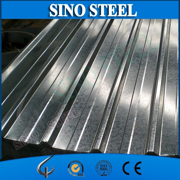 corrugated galvanized steel types of roof covering sheets