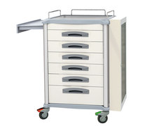 Difficult airway trolley Patient Medication Cart (Mobile)