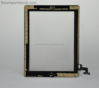 Top Quality Half Assembly For iPad 2 Touch Screen Digitizer Glass with Home Button