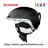 Fashion and Multi Color Avaliable Ski Helmet CE EN1077 Approval