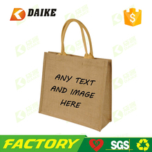 Factory direct personalised jute bag for Top quality professional