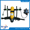 positive pressure self contained breathing apparatus scba