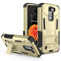Hot Selling Shockproof Rugged Armor Hybrid Hard Full-Body Case Cover Stand Belt Clip Holster For LG Aristo MS210