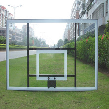 Outdoor Tempered Laminated Glass Basketball Backboard