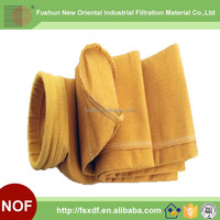 High temperature resistant P84 dust collector filter bag for coke industry