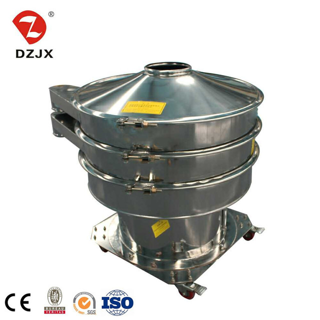 Xinxiang Made rotary mica vibration separator machine vibro aluminum oxide sieveshaker