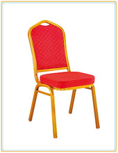 Cheap Fabric Hotel Stacking Banquet Chair Steel Hall Wedding Chairs