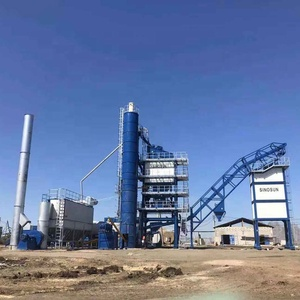 Asphalt Concrete Batching Mixing Plant with capacity 120t/h