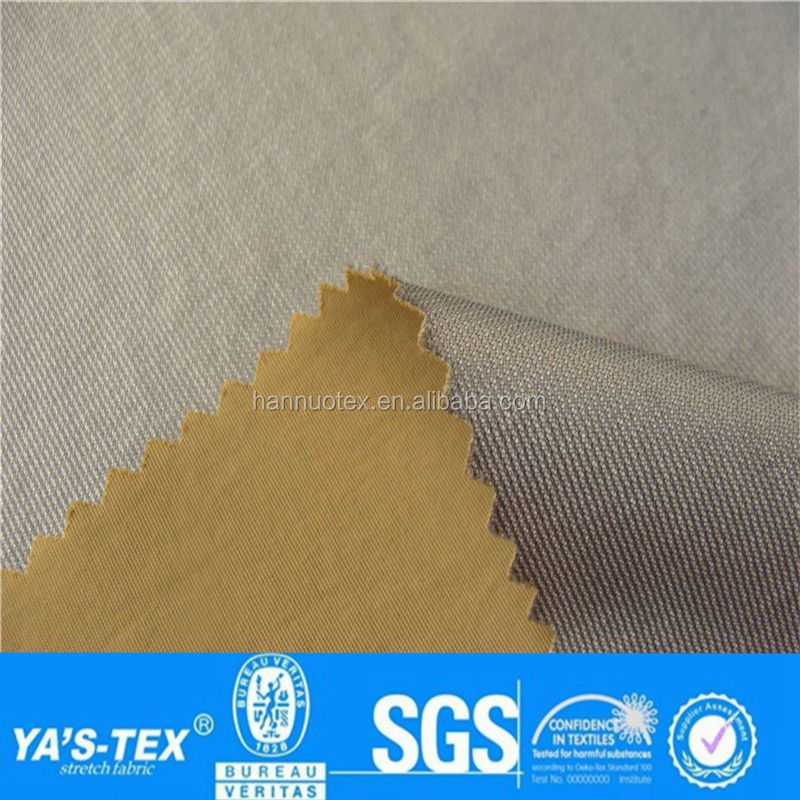 2017 waterproof polyester taffeta TPU fabric fire protection clothing fabric For Making Flag Garments