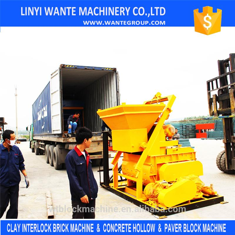 2014 new Stable and reliable running mini diesel cement mixer for tractor