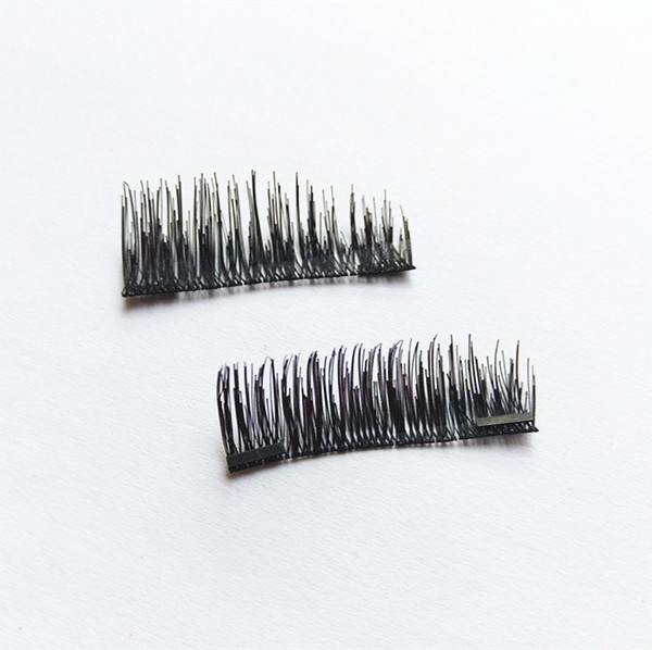 Magnetic Eyelashes Package Box Private Label magnetic false eyelashes 3D Silk Lashes Wholesale