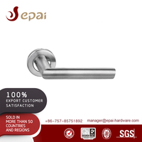 Top sale lever type stainless steel pantry door handles