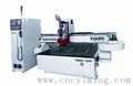 3d wood working cnc machine with linear tool changer