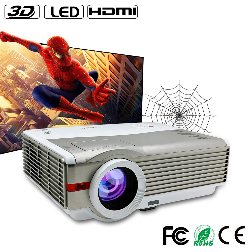 4000 Lumens 3d led projector home theater projector led mini pocket projector