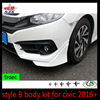 New arrival style B hot sale car body parts for Hon-da civic 2016