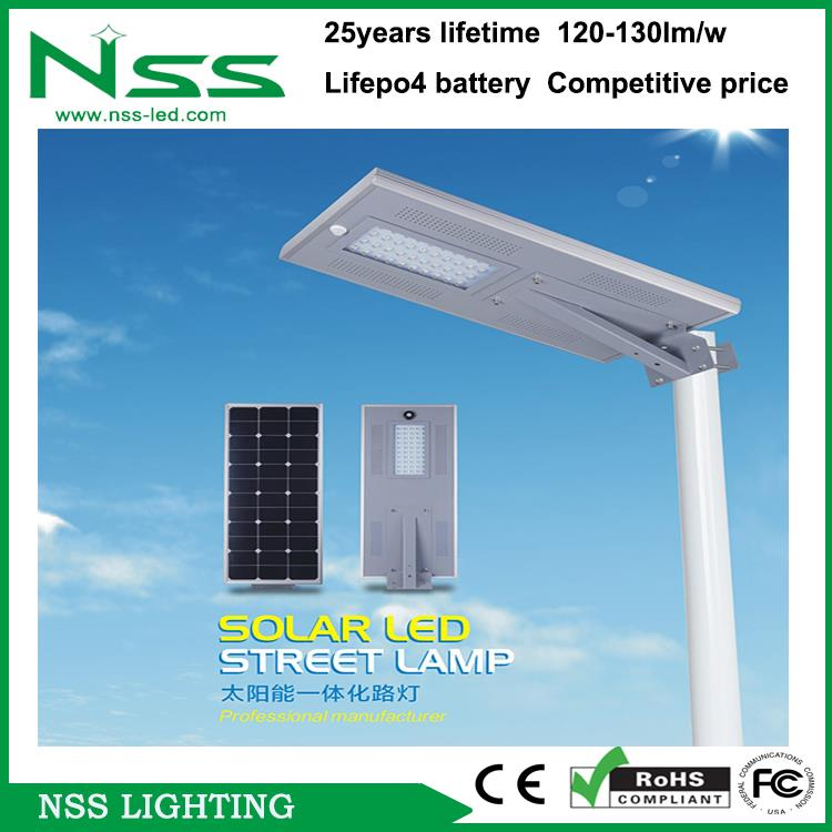 Strong lux light all ine one led solar street light outdoor module led street light for pathway , garden, road