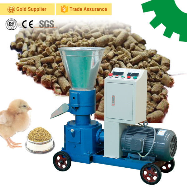 High Quality Factory Supply small scale farm use chicken duck goose poultry feed pellet machine animal feed processing machine