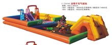 2016 new product China Soft Kids inflatable Indoor ball pool sand commercial funny playground
