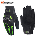 Green Leather 4Xl Hard Knuckle Top Ten Vintage Quality Light Large Motorcycle Gloves