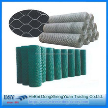 galvanized and pvc coated bird animal cages hexagonal wire mesh / chicken wire mesh