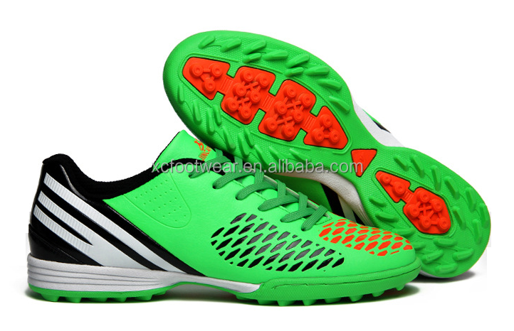 XCF001 men indoor outdoor colorful football shoes soccer shoes