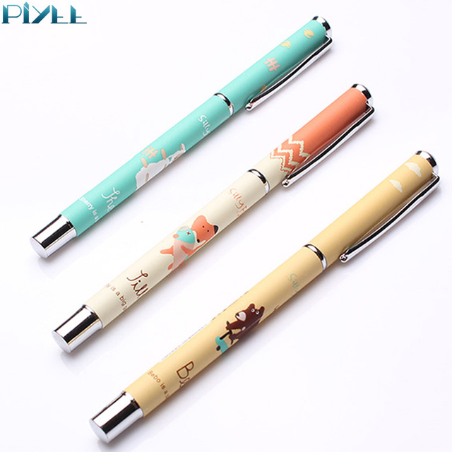 Cheap wholesale price penna stilografica metal fountain pen with paper cover for school